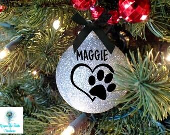 Pet Ornament - Christmas Ornament - Dog Ornament - Cat Ornament - Pet Gift - Personalized - Personalized Pet - Custom Pet Ornament-Pet Lover