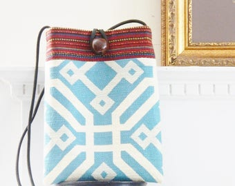 Mini Flat Cross Body Bag...