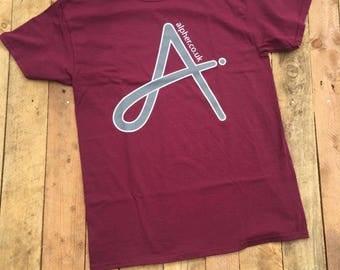 Alpher Screen Printed T Shirt