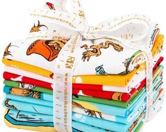 Anniversary Sale Dr. Seuss What Pet Should I Get  8 Fat Quarters + 1 Panel Kaufman Fabrics~ Fast Shipping FQ646