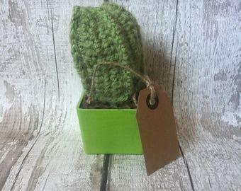 Crochet Cactus in a pot