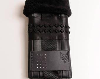 Black clutch soft original T1 gothic rock style look