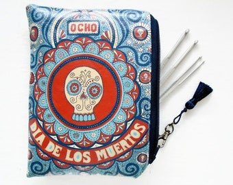 Waterproof pouch, Day Of The Dead, waterproof bag. Tampon Pouch