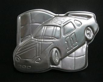 Vintage Race Car Wilton Cake Pan 1997, Wilton Nascar Cake Pan