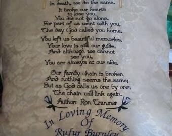 In Memory of PILLOW