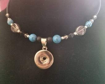 Interchangeable Snap Jewelry Choker