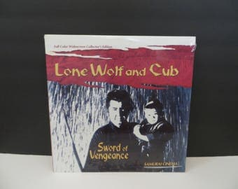 SEALED!!! Lone Wolf and Cub Sword of Vengeance Laserdisc Full Color Widescreen Collectors Edition SEALED!!!