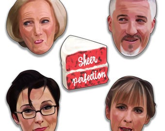 The Great British Bake Off Sticker Pack