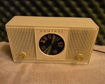 Admiral Radio Etsy