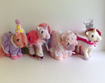 G1 MLP Pony Wear LOT (Ponies not included)