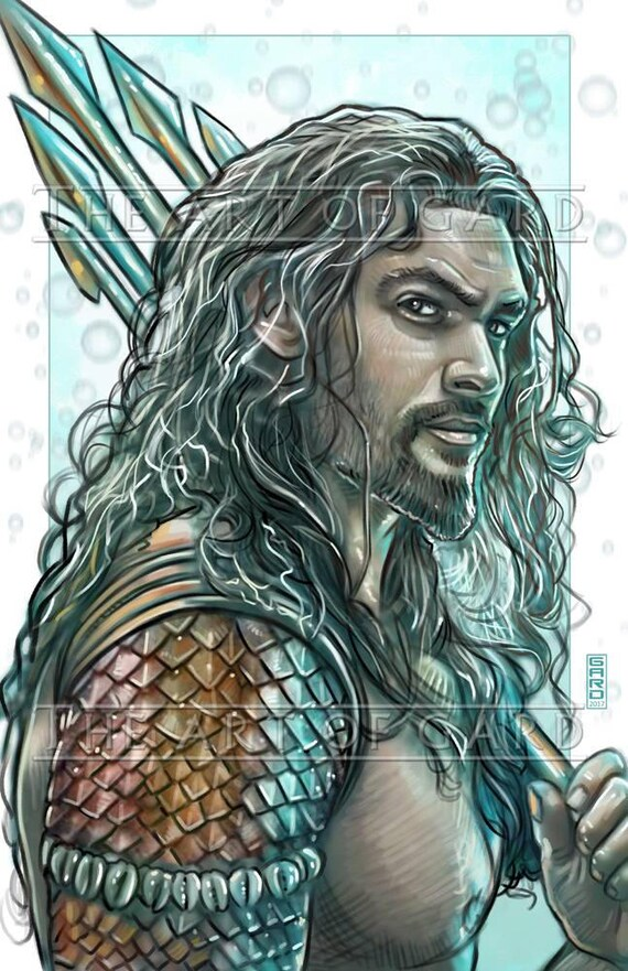 Aquaman, Jason Momoa Print