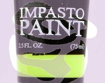 Prima Finnabair Art Alchemy IMPASTO Paint Heavy Body Acrylic Paint 2.5 oz GREEN APPLE #964603