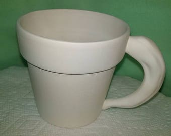 Cup with Chili Pepper Handle