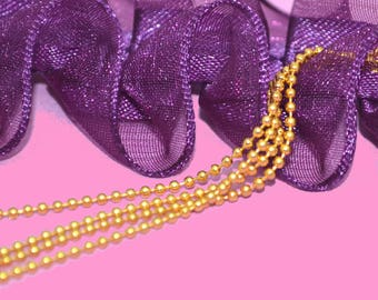 String ball 1.5 mm color gold