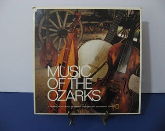 National Geographic Society - Music Of The Ozarks - Circa 1972
