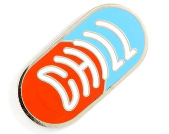 Chill Pill Enamel Pin