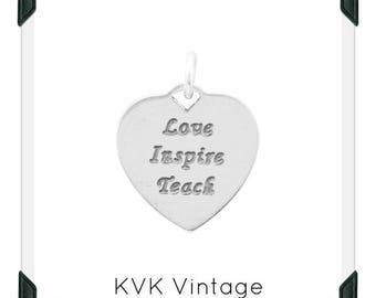 Love, Inspire, Teach Charm