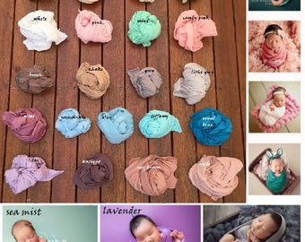 Stretch Jersey Wrap for Newborn Photography Wrap Slider Photo Prop