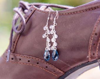 Orkla Earrings - Lavender
