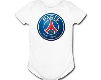 Paris SG 3 Months Futbol Football Soccer T- SHIRT / Onepiece Paris Saint Germain Football Club