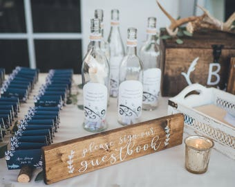 Please sign our guestbook Wedding Sign