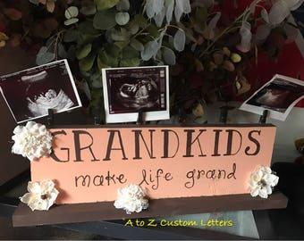 Grandparents picture holder