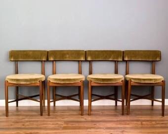 G- Plan Fresco Dining chairs by Kofod Larsen