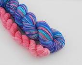 LOVE SOCK self-striping, Paris, merino nylon sock yarn,100g