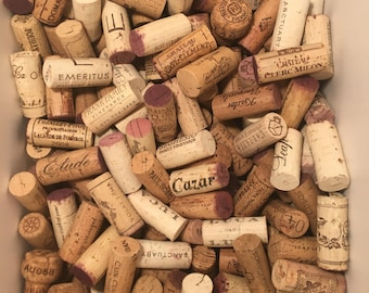 200 Raw Non-Synthetic Used Wine Corks