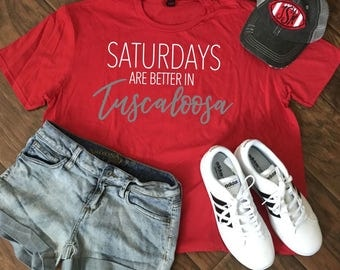 Saturdays are better in Tuscaloosa