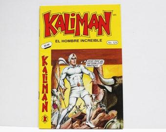 Kaliman El Hombre Increible No 124 El Faraon Sagrado Revista en Español Comic Book in Spanish RARE