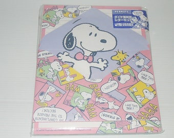 Snoopy and his friends Letter Set ~ ~