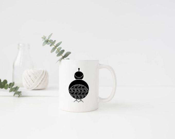 Plastic Quail Mug