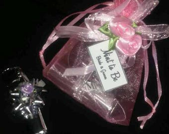 "Wedding favors Set of 100 Mint to be"" wedding candy mints with a free gift bags"