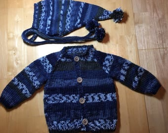 6 Month Size Little Elfin Sweater