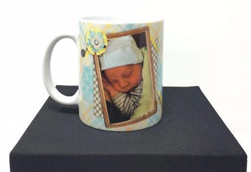 Personalized coffee mug, coffee cup
