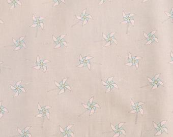 Fabric - Michael Miller - Pinwheels - medium weight woven cotton fabric.