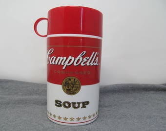 Campbells's Soup Thermos - 3 Piece
