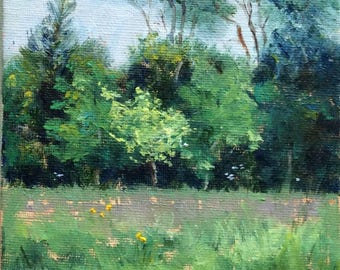 Texan Spring Original Oil Painting #3