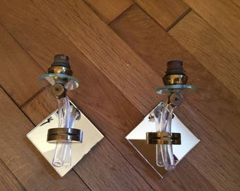 French Art Deco wall lights