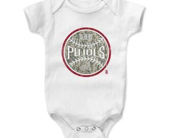 Albert Pujols Camo R Officially Licensed Los Angeles A Kids Onesie