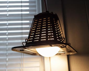 Antique Toaster Pendant Light