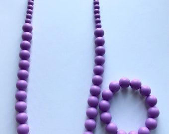 Sale- Lavender Pearl Style Set