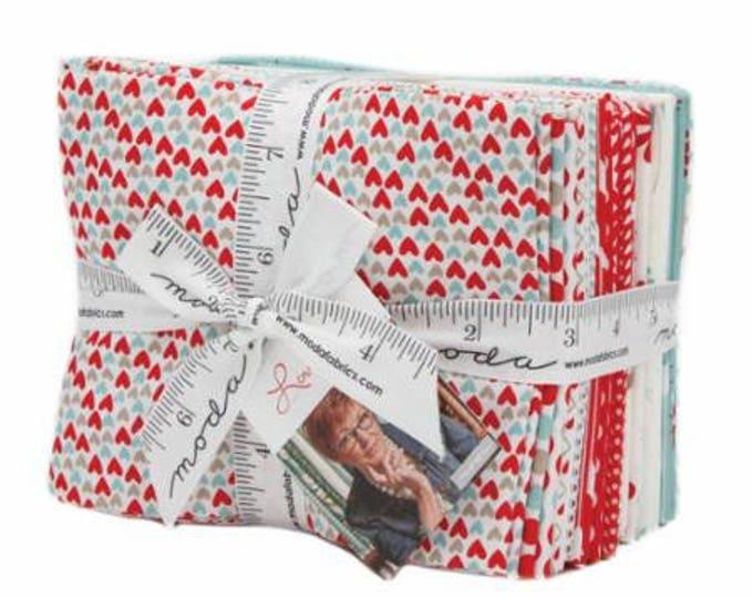 Love You by Sandy Gervais for Moda Fat Quarter Bundle 21 FQ 17950ab