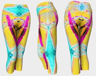 07574 Yoga Capri: Under the Bridge Photography. Yoga Leggings, Yoga Pants, Yoga Tights, Running Tights, Leggings