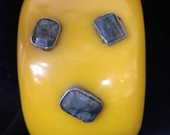 Bracelet ~ Vintage Yellow Resine