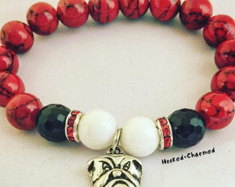 UGA Dawgs Bracelets | Georgia Bulldogs