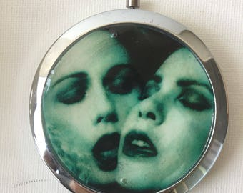 BLOODY KISSES type o negative album cover compact mirror