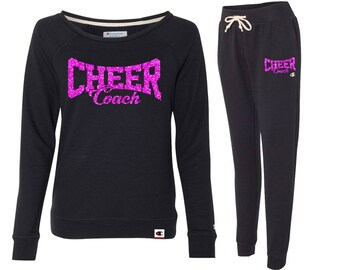 CHEER COACH Premium French Terry Set