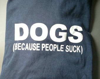 Dog lover shirt.